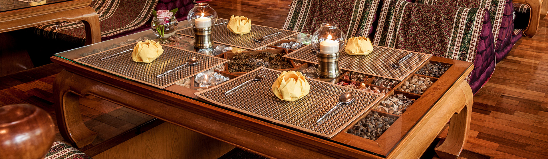 Thai Restaurant Samui Thai Cuisine in Hamburg.